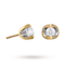 For Her - 9ct Yellow Gold 0.25ct Tension Set Diamond Earrings - 12152702