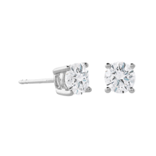 18ct White Gold 1 00ct Diamond Stud Earring