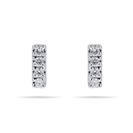 39a07584c797f Diamond Earrings, Yellow & White Gold Studs & Drop Earrings for ...