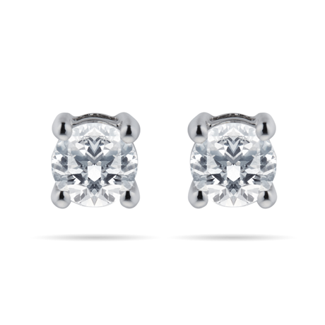 18ct White Gold 0.60cttw Brilliant Cut Stud Earrings