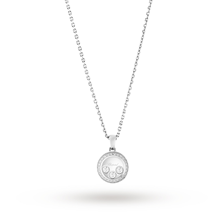 Chopard Happy Curves 18ct White Gold Diamond Pendant
