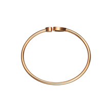 Chopard Happy Hearts 18ct Rose Gold Diamond Bangle