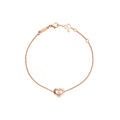 Chopard Happy Diamonds 18ct Rose Gold Icons Bracelet