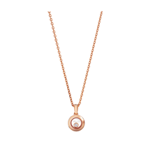 Chopard Happy Diamonds 18ct Rose Gold Icons Pendant