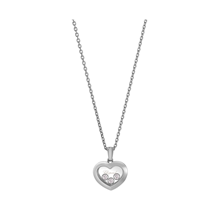 Chopard Happy Diamonds 18ct White Gold Icons Pendant