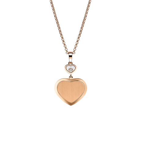 Chopard Limited Edition James Bond 007 Happy Hearts - Golden Hearts Necklace 79A007-5021