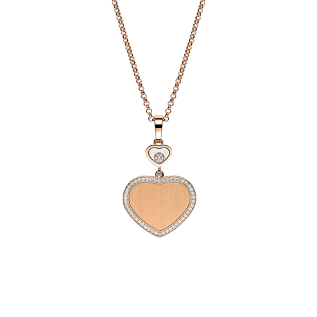 Chopard Limited Edition 007 Happy Hearts - Golden Hearts Necklace 79A007-5921