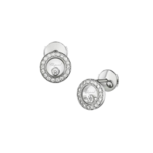 Chopard Happy Diamonds Icons 18ct White Gold Diamond Earrings
