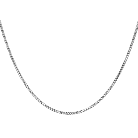 9ct White Gold 45-50cm (18-20