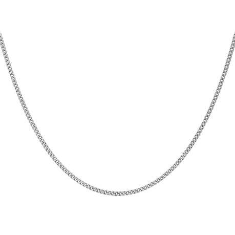 9ct White Gold 60cm (24