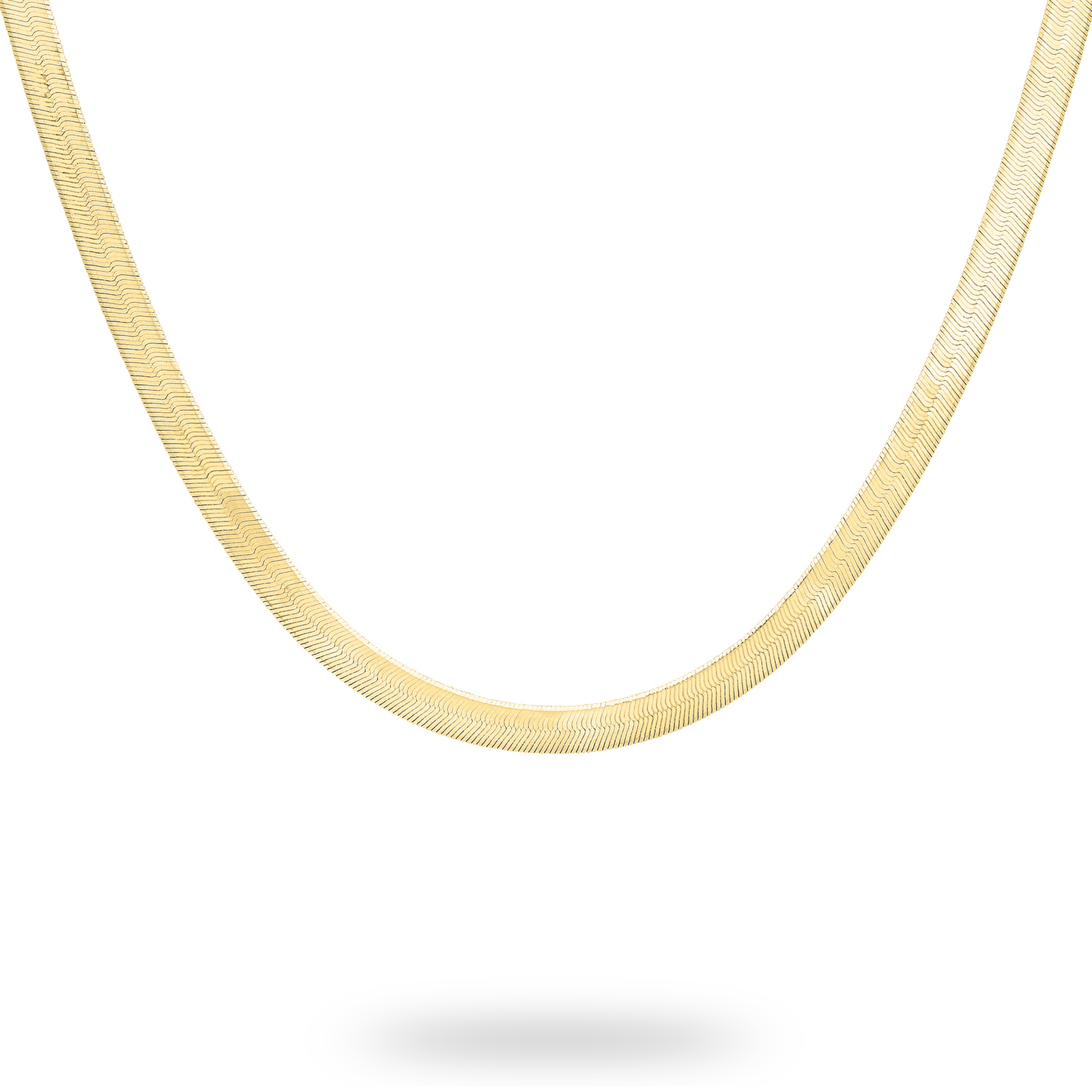 9ct Yellow Gold Herringbone Necklace  bf38daa0a