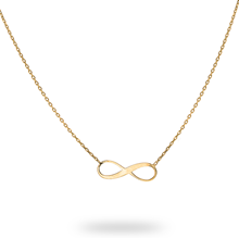 9ct Yellow Gold Infinity Symbol Pendant