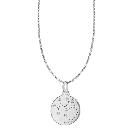 Silver Sagittarius Star Constellation Pendant