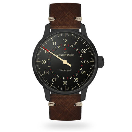 Meistersinger Perigraph Blackline Automatic Men's Watch