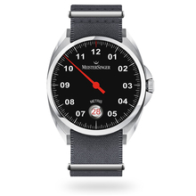 Meistersinger Metris Black Automatic Unisex Watch