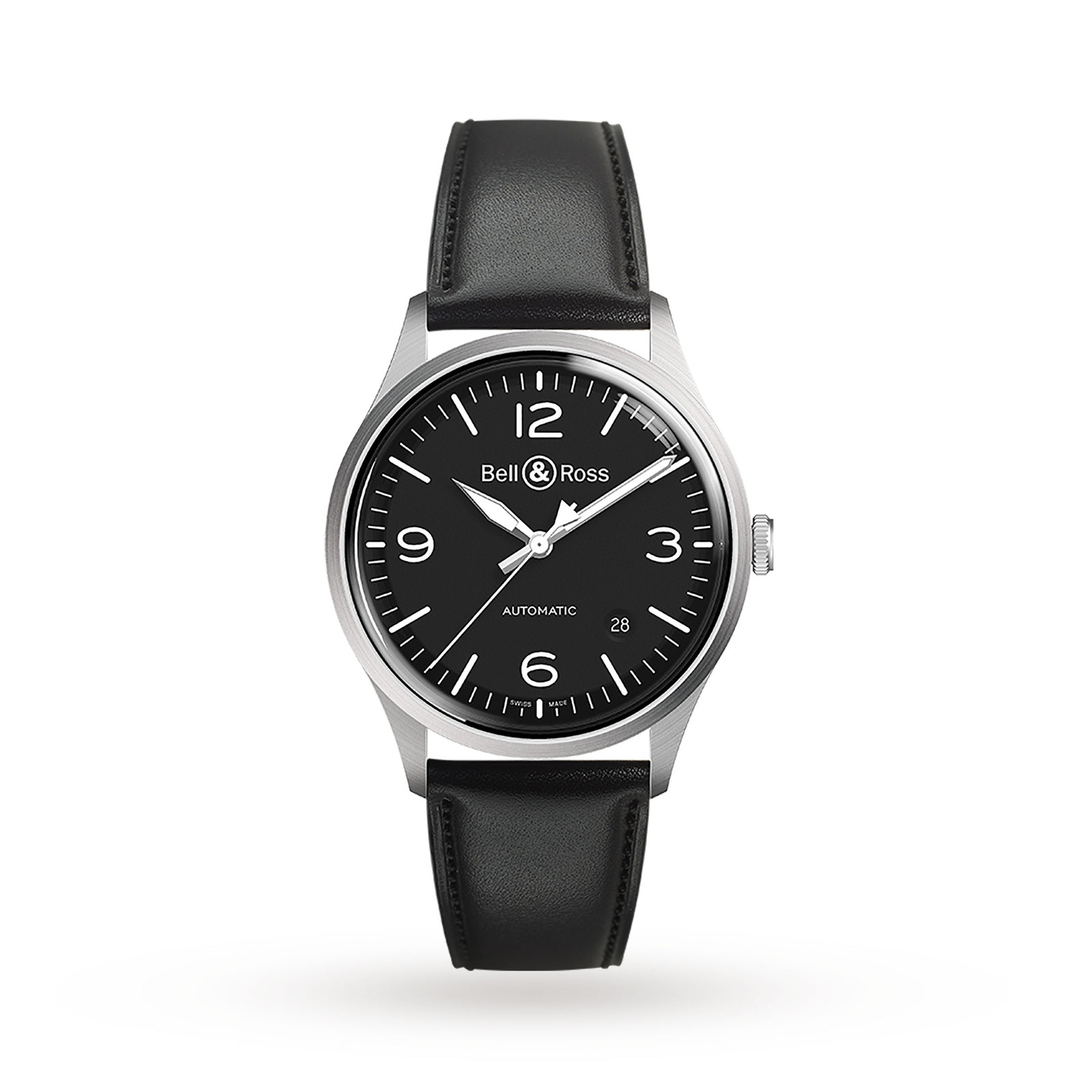 Bell & Ross Black Steel Vintage Watch