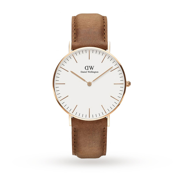 Daniel Wellington Mens Classic 36mm Durham Watch