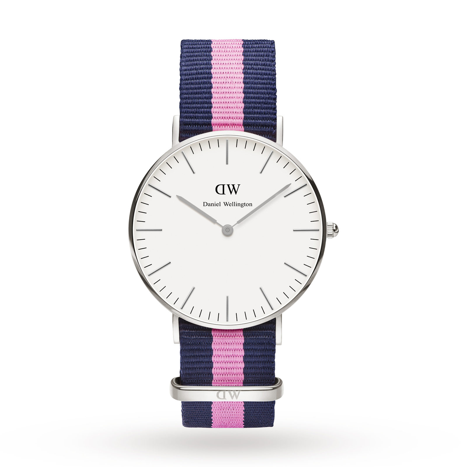 Daniel Wellington Ladies Winchester Silver 36mm Watch