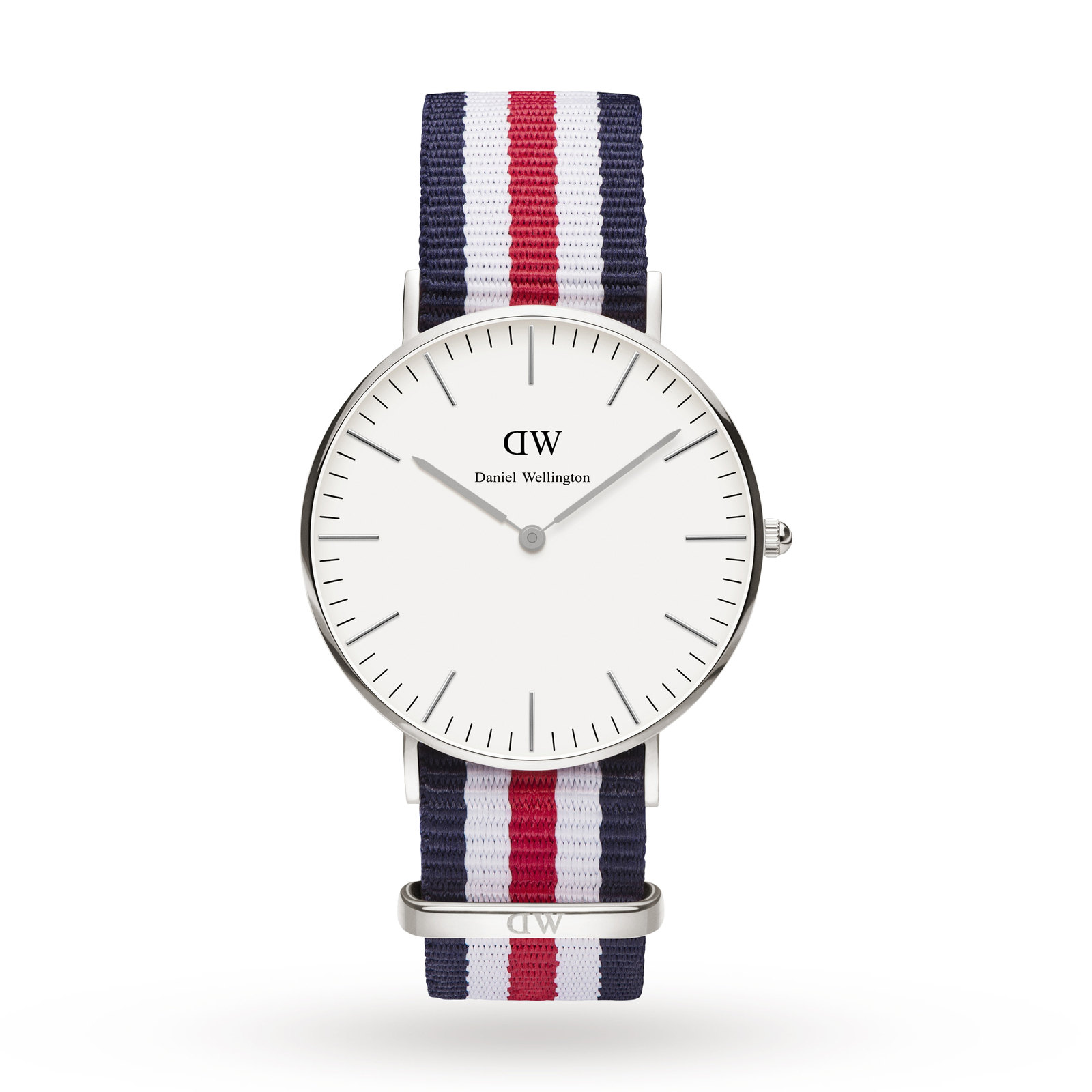 daniel Wellington Ladies Canterbury Silver 36mm Watch
