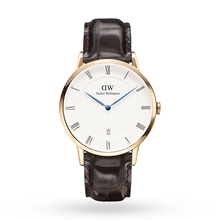 Daniel Wellington Mens Dapper 38mm York Rose Watch