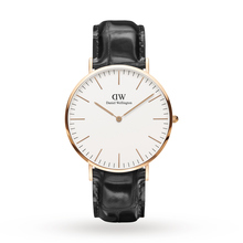 Daniel Wellington Mens Classic 40mm Reading Watch