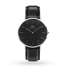 Daniel Wellington Unisex Classic Black Sheffield Watch 40mm Watch