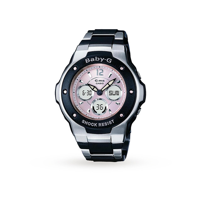Gms Baby-G Ladies Pink and Black Watch  cefd1fd82616