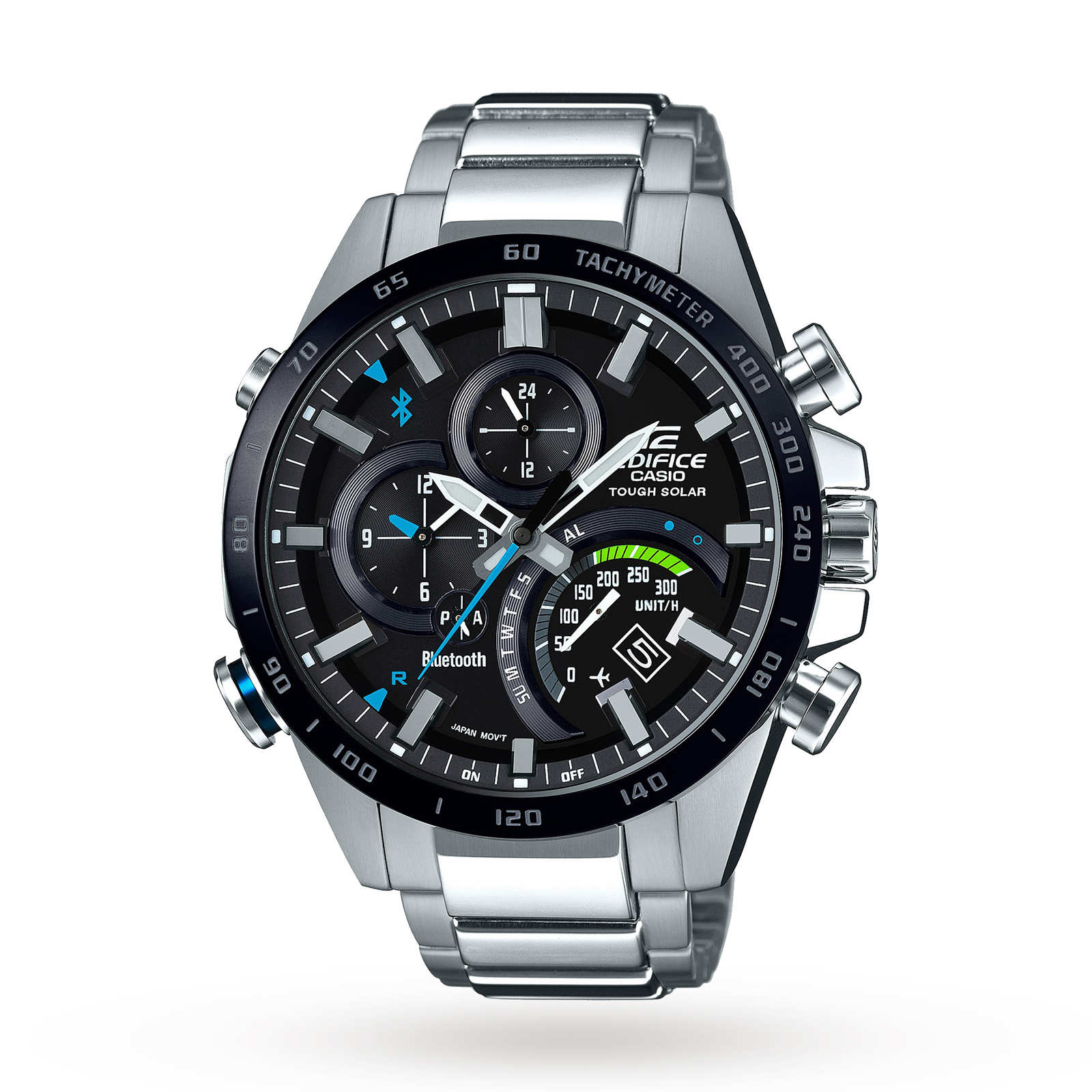 Casio Mens Edifice Bluetooth World Traveller Alarm Chrono ...