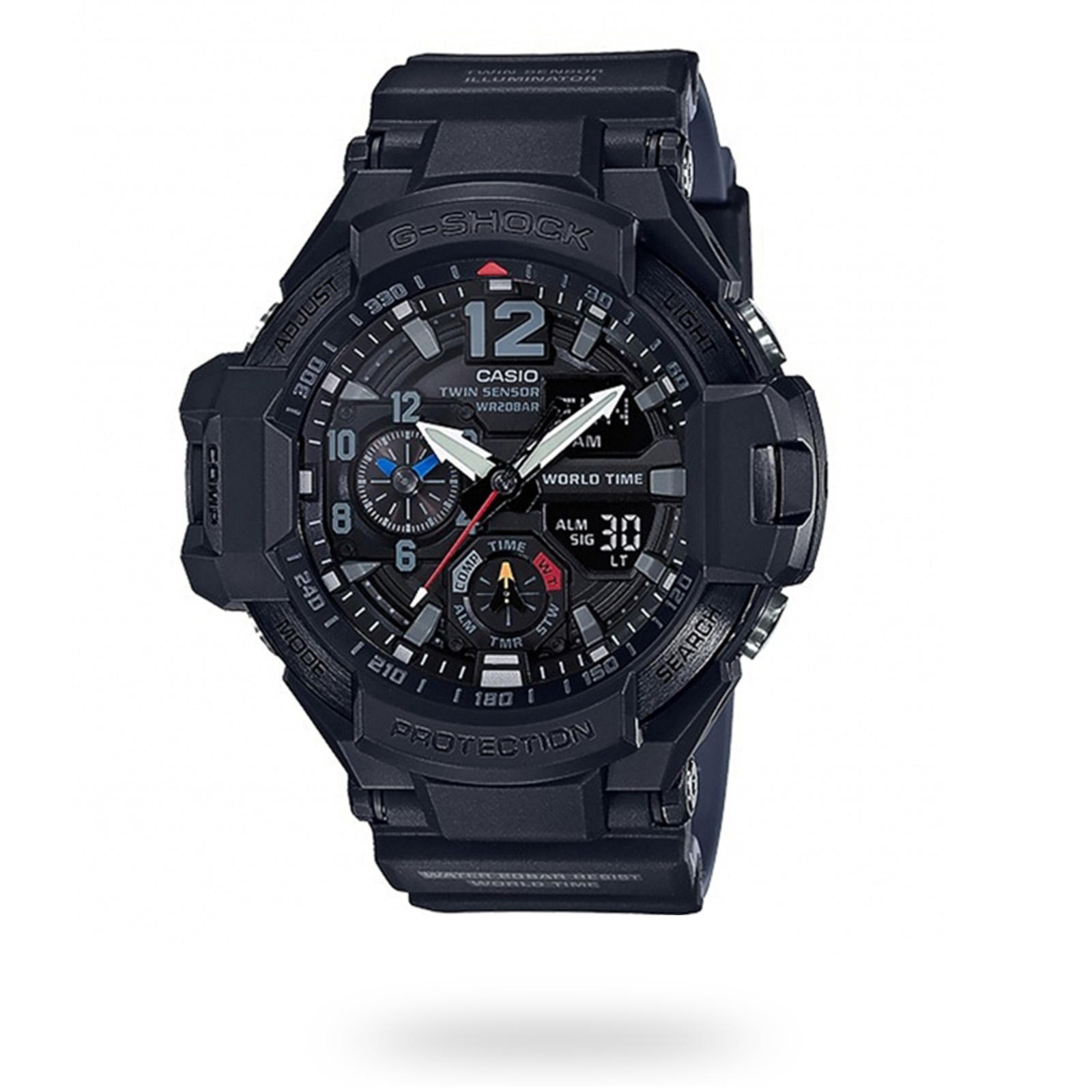 Casio G-Shock Aviator Digital Compass Mens Watch