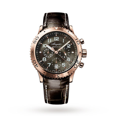 Breguet Type XXI Flyback Mens 42.5mm Watch