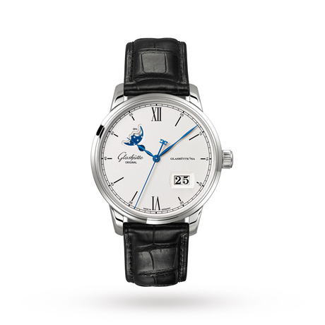 Glashutte Original Senator Excellence Panorama Date Moon Phase Men's Watch