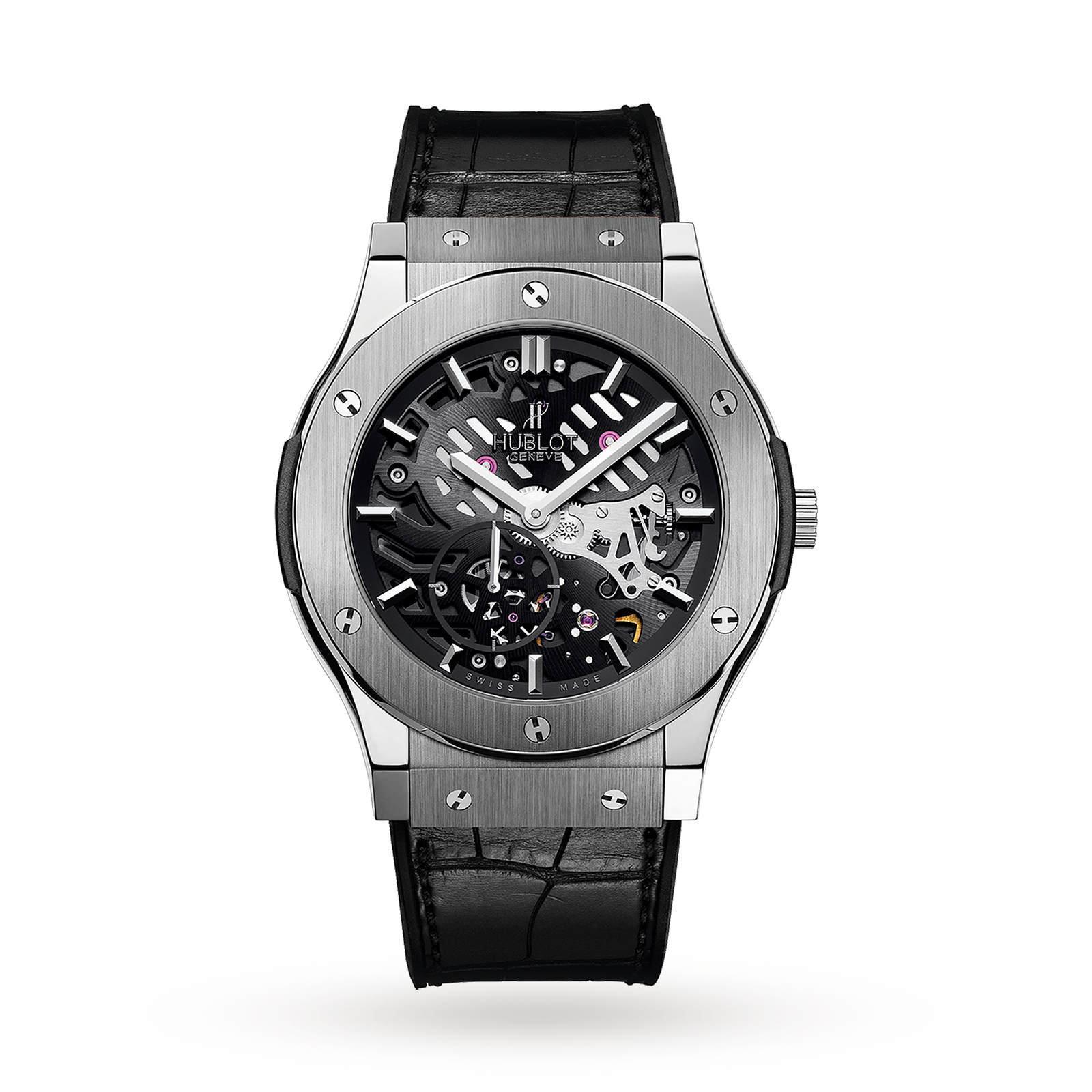 Hublot Classic Fusion Ultra Thin Skeleton Titanium 515.NX.0170.LR 45mm