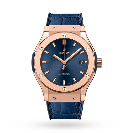 Hublot Classic Fusion Blue King Gold 511.OX.7180.LR 45mm
