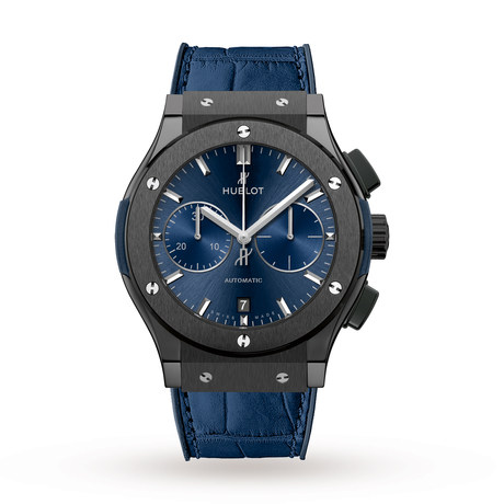 Hublot Classic Fusion Ceramic Blue Chronograph 521.CM.7170.LR 45mm
