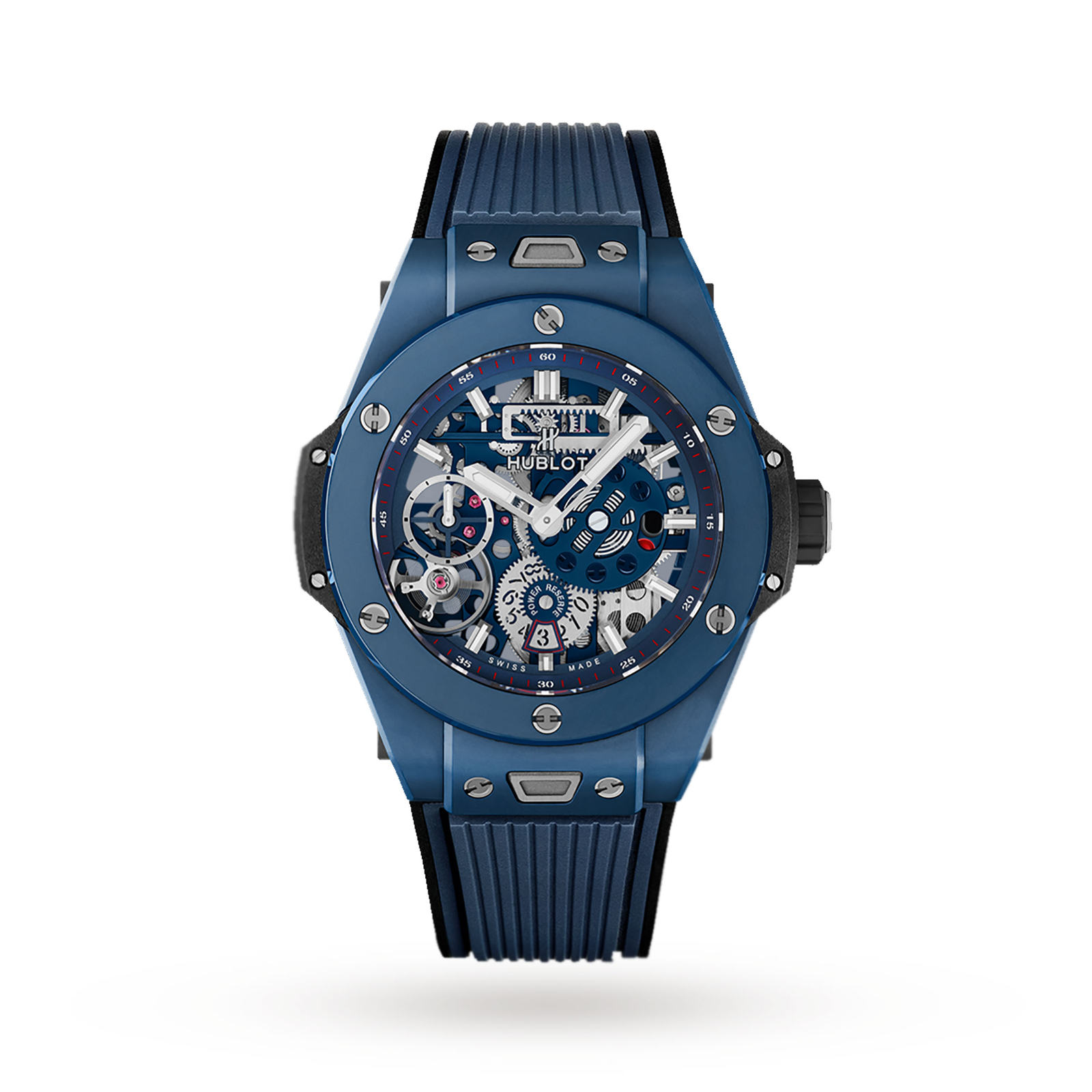 Hublot Big Bang MECA-10 Ceramic Blue 414.EX.5123.RX 45mm
