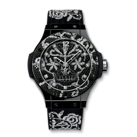 Hublot Big Bang Broderie Ceramic Mens 41mm Automatic Watch