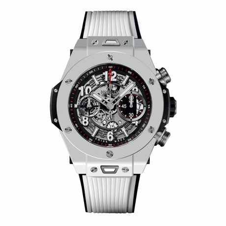 Hublot Big Bang Unico White Ceramic 45mm Automatic Watch