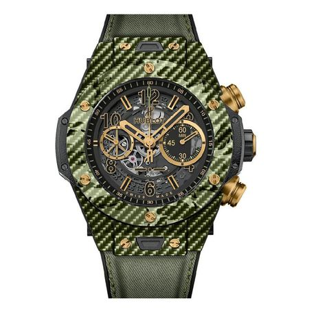 Hublot Big Bang Unico Italia Independent Green Camo 45mm Automatic Watch