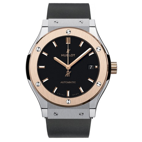 Hublot Classic Fusion Titanium King Gold Mens 45mm Automatic Watch