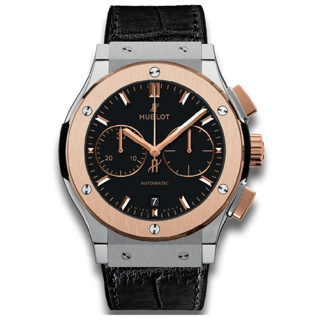 Hublot Classic Fusion Chronograph Titanium King Gold Mens 45mm Automatic Watch