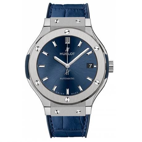 Hublot Classic Fusion Mens 38mm Titanium Automatic Watch