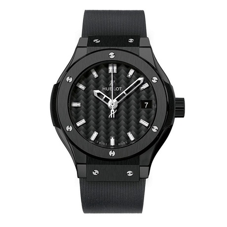 Hublot Classic Fusion Ladies Ceramic 33mm Quartz Watch