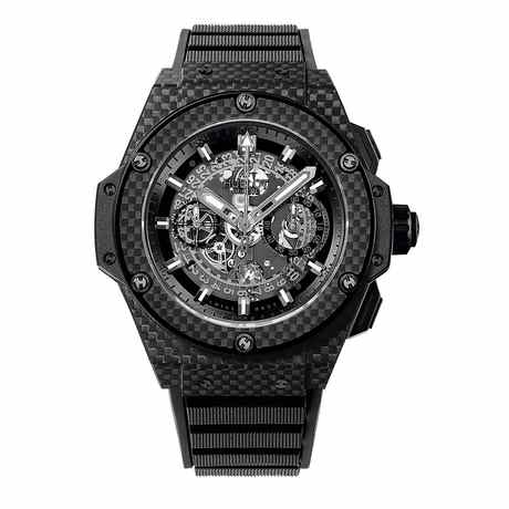 Hublot King Power Unico Chronograph Mens Carbon Fiber 48mm Automatic Watch