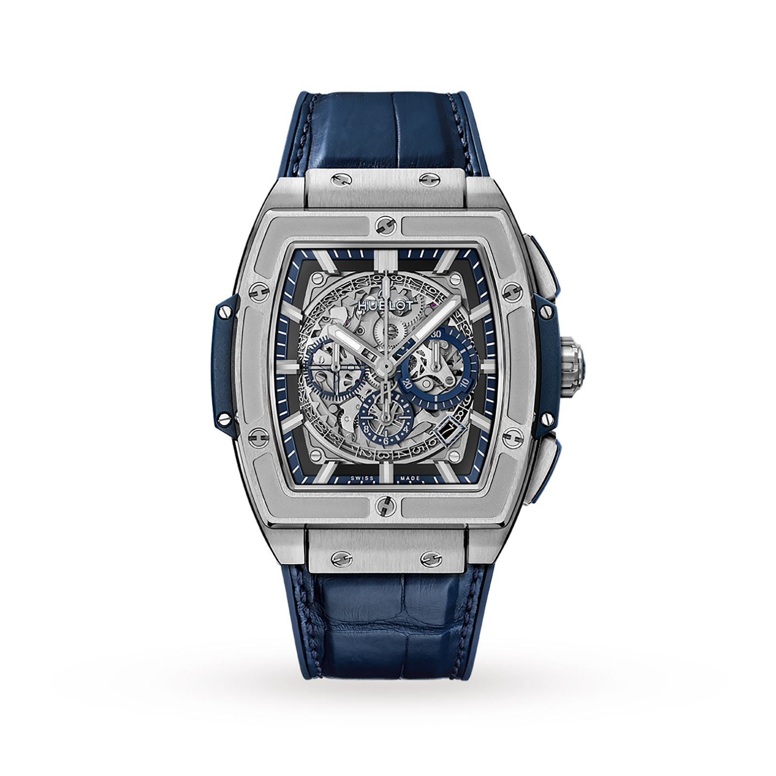 Hublot Spirit of Big Bang Titanium Blue 641.NX.7170.LR 42mm