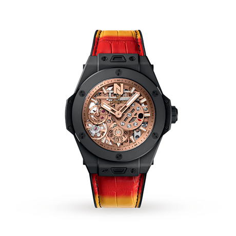 Hublot Big Bang Meca-10 Nicky Jam Ceramic Manual Winding 45mm