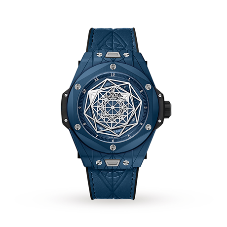 Hublot Big Bang Unico Sang Bleu Ceramic Blue Automatic 45mm