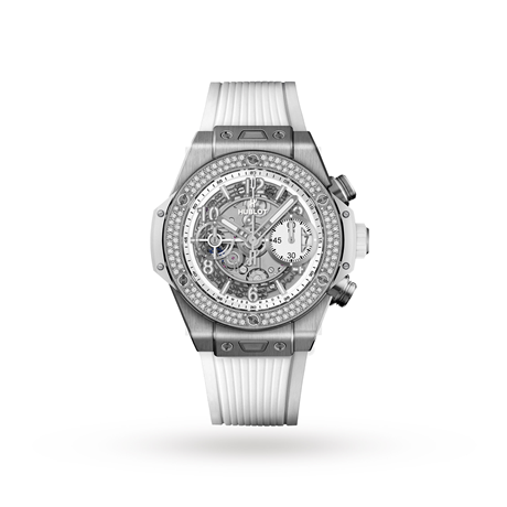 Hublot Big Bang Unico Titanium White Diamonds Automatic 42mm