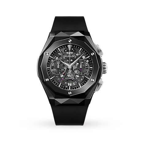 Hublot Classic Fusion Aerofusion Chronograph Orlinski Black Magic Automatic 45mm
