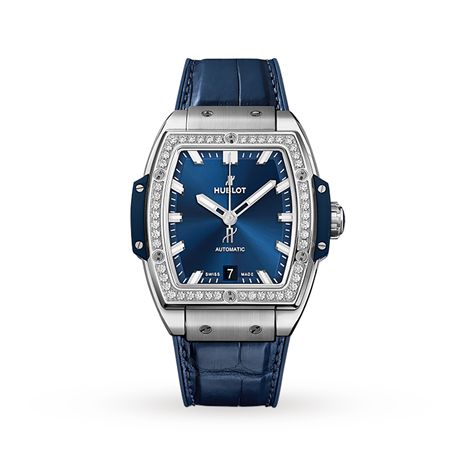 Hublot Spirit Of Big Bang Titanium Blue Diamonds Automatic 39mm