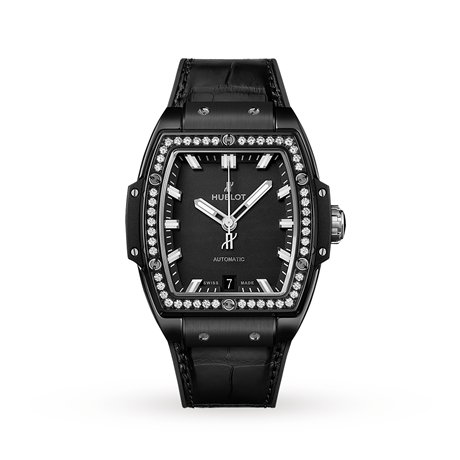 Hublot Spirit Of Big Bang Black Magic Diamonds 665.CX.1170.LR.1204